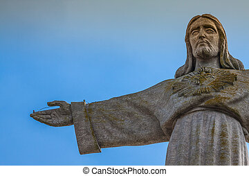 Jesus Christ monument in Lisbon - Portugal