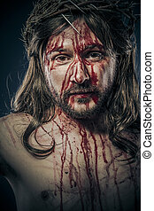Jesus Christ, passion concept, religion picture