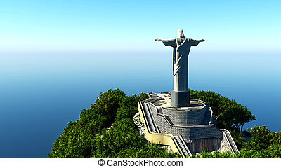 Jesus Christ the redeemer in Rio
