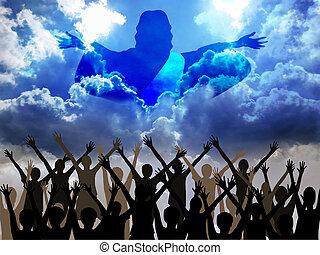 Jesus coming - Jesus Christ coming to save the world