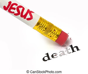 Jesus consequences of death - concept of Jesus removing the...