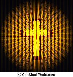 jesus Cross illusion background