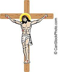 Jesus Cross Illustration