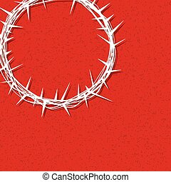 Jesus Crown of Thorns Illustration