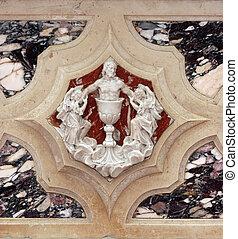 Jesus, detail of altar
