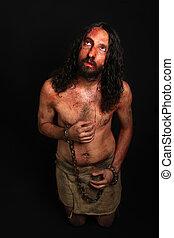 Jesus in pain