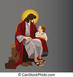 jesus - Jeasus with the child