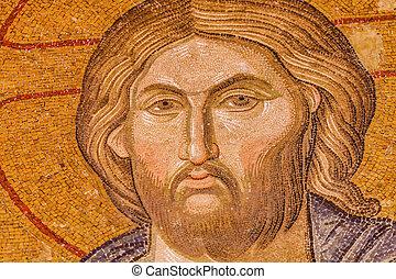 jesus, mosaik
