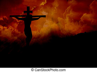Jesus on the cross - Christ on the cross at Calvary