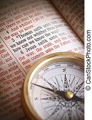 jesus, richtung, john, bedürfnis, 14:6, weg