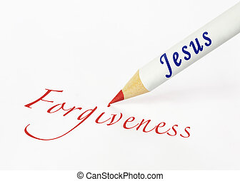 jesus, verzeihung, buchstabiert