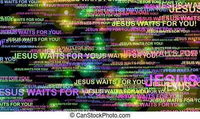 Jesus waits for you - Christian calling