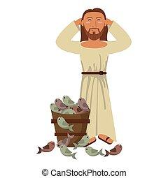 jesuschrist man cartoon