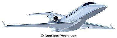 jet, avion