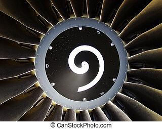 Jet engine detail