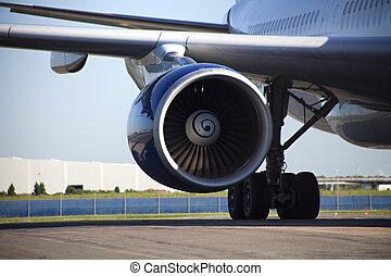 Jet Engine - Jet engine close up