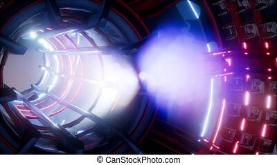 jet engine turbine of plane part, aircraft concept, aviation...