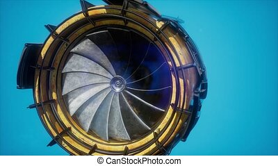 jet engine turbine parts