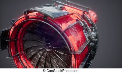 jet engine turbine parts