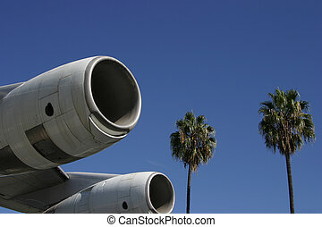 Jet Engines and Palms 1