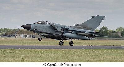 Jet fighter aircraft