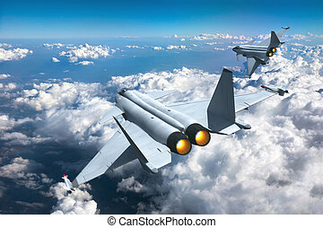 Jet fighters