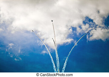 Jet fighters show