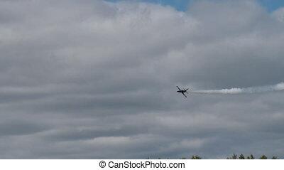 Jet in the sky