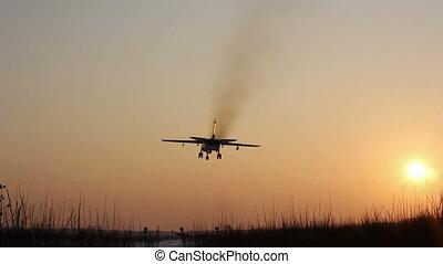 jet military plane flies overhead c