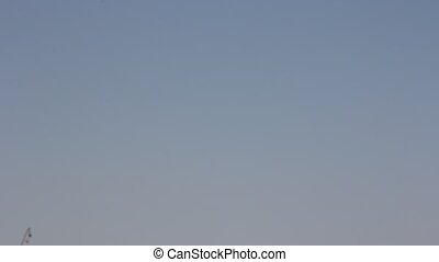 jet military plane Su-24 flies