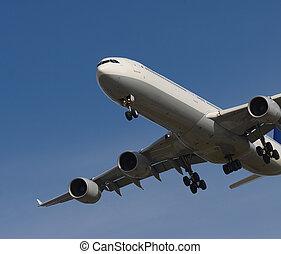 Jet on Approach
