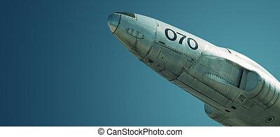 Jet on display