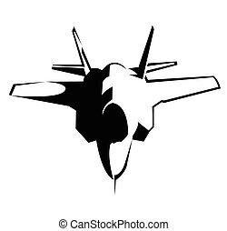 Jet Plane Symbol