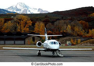 jet set go - wing tip to wing tip landscape orientation of...