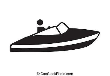 jet ski design - jet ski graphic design , vector...