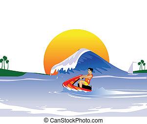 jet ski vacation - water sports