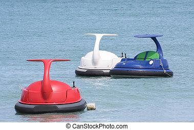 jet, thalland, scooter, eau océan, ski, ou