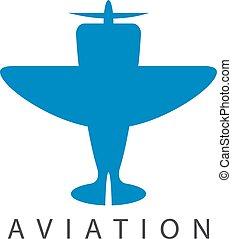 jet, vettore, disegno, sagoma, piccolo aeroplano