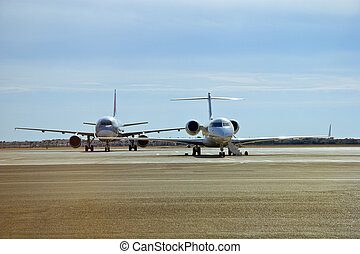 Jets awaiting