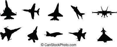 jets, militaire