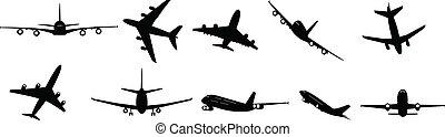 jets, passager