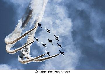 Jets - Combat flight in enemy territory
