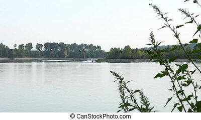 Jetski in Siberian river 1