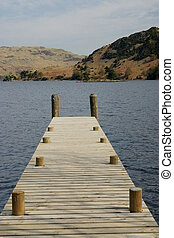 Jetty in the Lake District