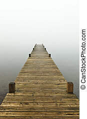 Jetty Into The Mist