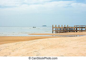 jetty on the beach