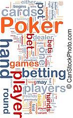 jeu, concept, parier, illustration, wordcloud, fond, jeux & paris