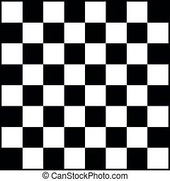jeu, gameboard, white., chess., noir, illustration, planche, sport, vecteur, ou, loisir, échecs