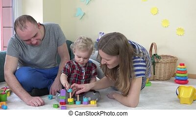 jeu, jouet, famille, room., peu, jeune, 4k, enfant, girl
