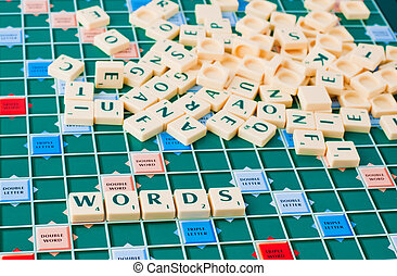 jeu, mots
